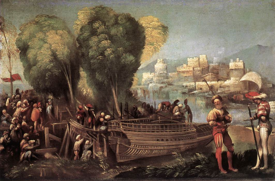 Aeneas and Achates on the Libyan Coast